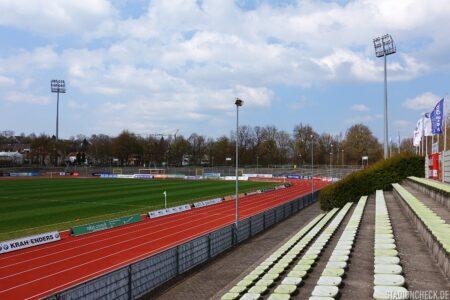 Stadion der Stadt Fulda im Sportpark Johannisau